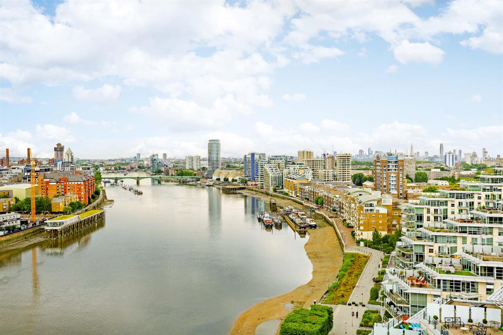 3 Bedrooms Penthouse Flat for sale in Ascensis Tower, Juniper Drive, Battersea Reach, Battersea Reach, London SW118